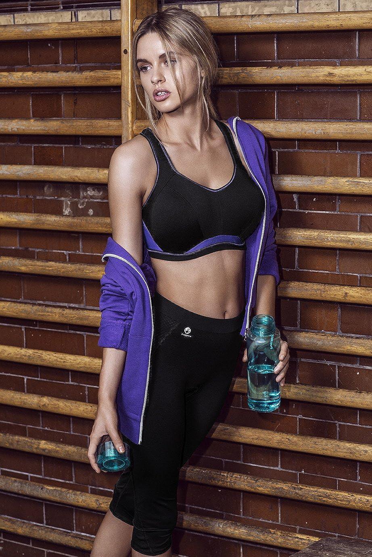 Freya Womens Epic Underwire Crop Top Sports Bra AC4004