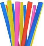 EXTRA LARGE Milkshake Straws 1/2 Inch Wide 8 1/2 Inch Long (50)