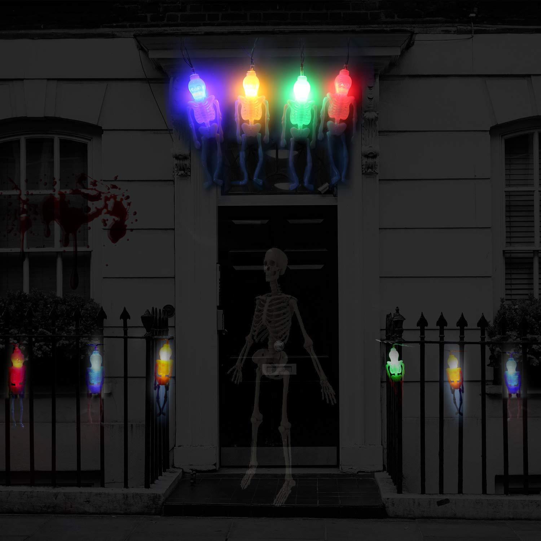 Amazoncom Halloween String Lights,30 Led 108Ft Holiday Lights Decoration, Battery