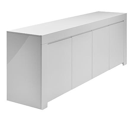 Credenza A Muro Per Cucina : Lc spa credenza mod. amalfi a 4 porte 210 x 84 50 cm colore