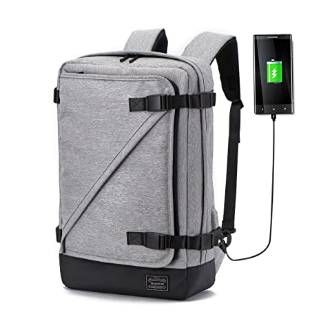 59c2252a3a99 Image Unavailable. Image not available for. Color  KHDZ Laptop Briefcase  Backpack 3 Way Convertible Shoulder Messenger Bag Business Backpack 15.6 ...