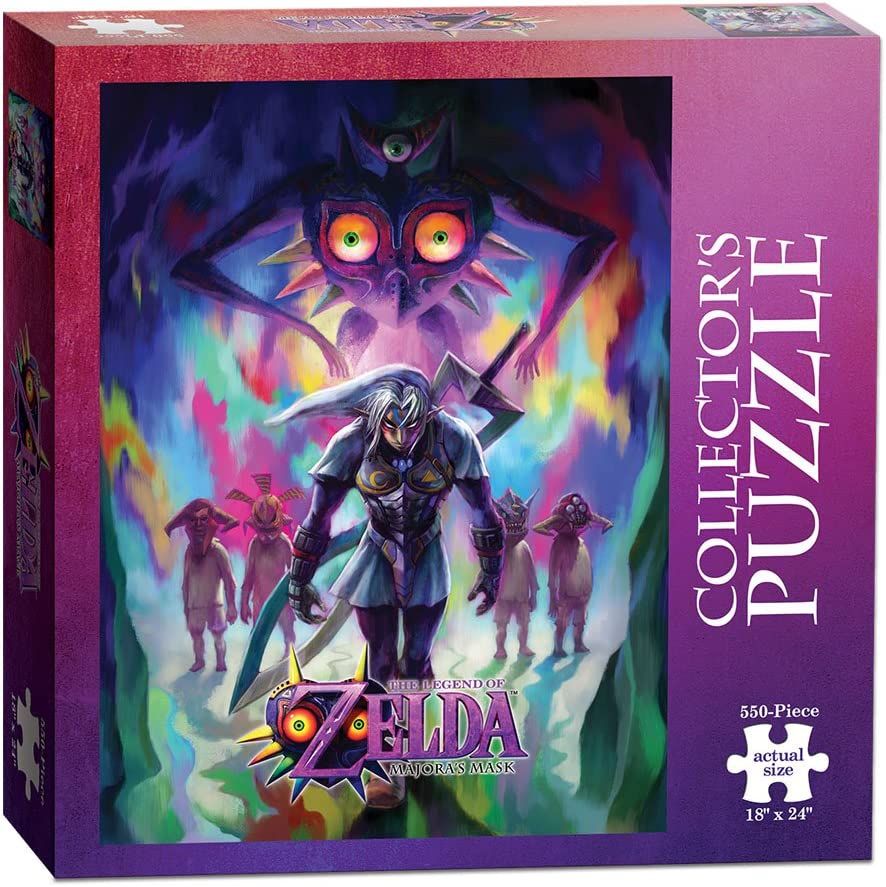 The Legend of Zelda: Majoras Mask Incarnation 550 Piece Puzzle: Amazon.es: Juguetes y juegos