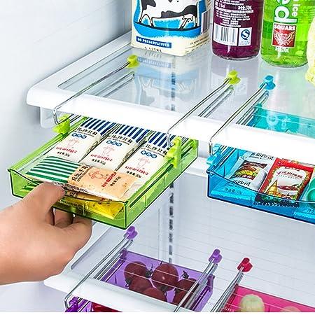 Generic morado: Universal Creative estante para frigorífico capa ...