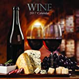 """Beautiful Photographs of Light & Dark Wines & Food Pairings for Those Who Love Wine 2017 Monthly Wall Calendar, 12"""" x 12"""""""