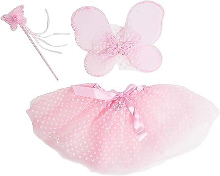 Bodysocks® Disfraz de Hada Rosa Niña (6-8 años): Amazon.es ...