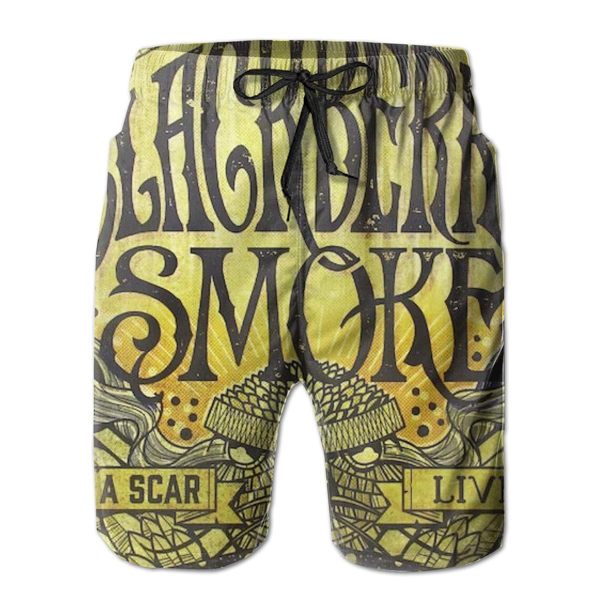 Robert R Castleberry BlackBerry Smoke Leave A Scar Live Men Summer Beach Shorts Surfing Pants