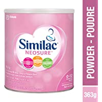 Similac Neosure Post-discharge Baby Formula Powder for Preterm Babies, Up To 12 Months, Pink, 363g