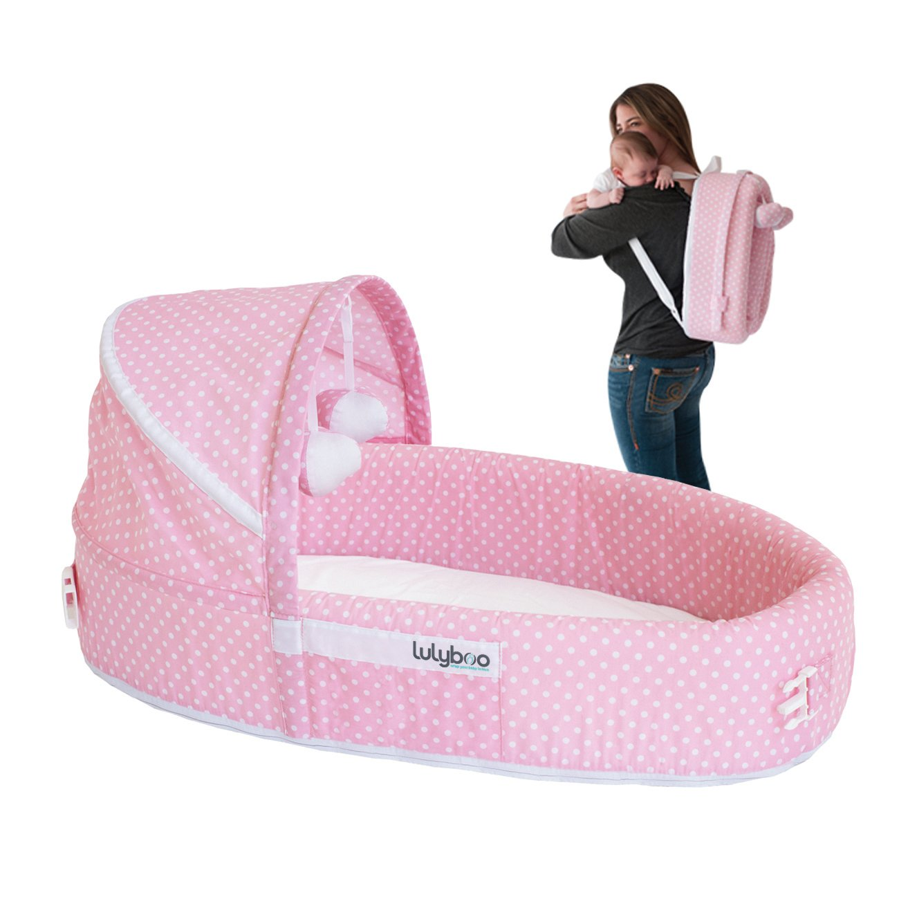 Infant LulyBoo Travel Bed