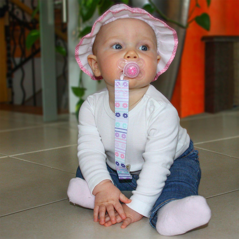 Amazon.com: liname Clip para chupete para las niñas – 4 ...