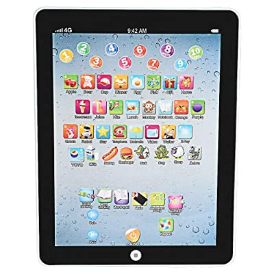 Black Kids Children Tablet Mini PAD Educational Learning Toys Gift for Boys Girls Baby: Health & Personal Care