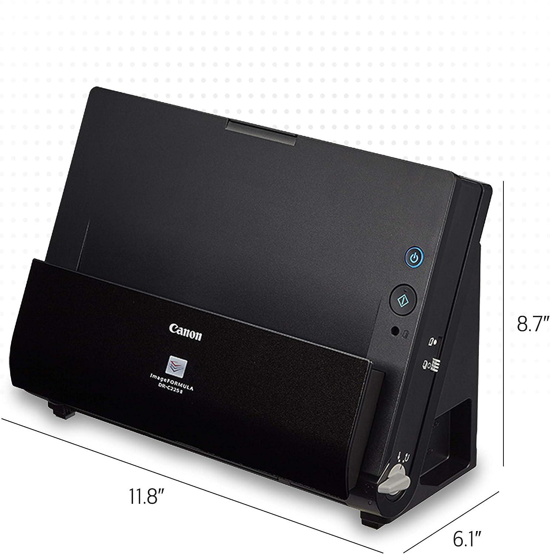 Canon ImageFORMULA DR-C225 II Office Document Scanner, Black - 3258C002: Electronics