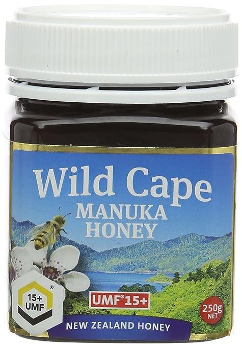 15 opinioni per Miele di Manuka Wild Cape UMF 15+ East Cape, 250g
