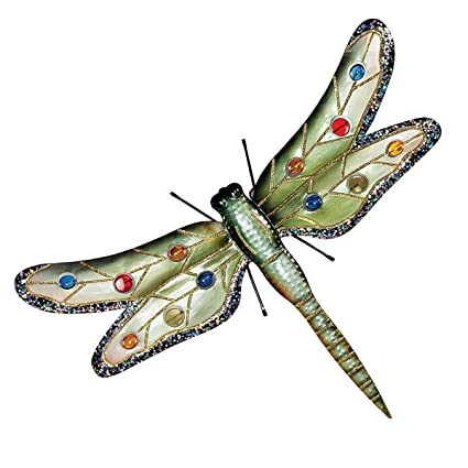 Lovely Design Toscano Oversized Dragonfly Wall Decor