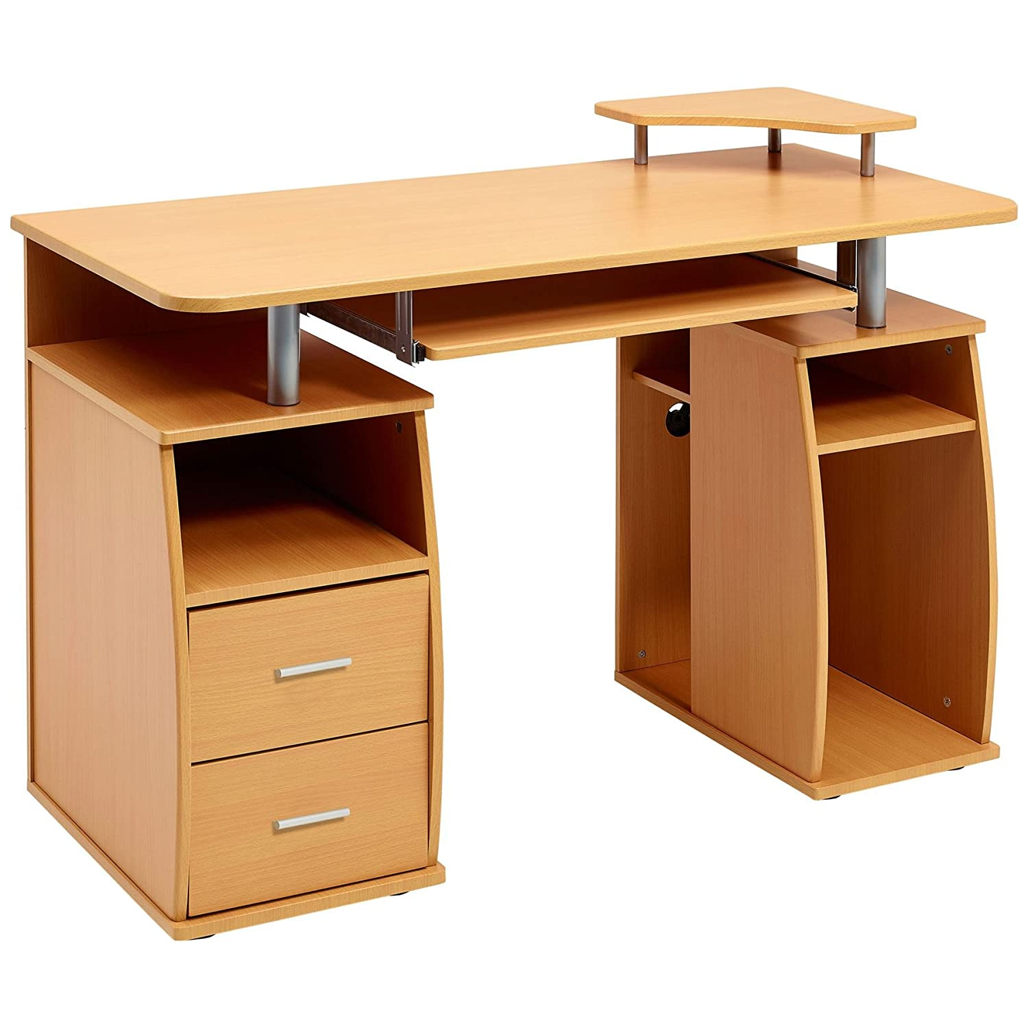 finish drawers natural product writing essentials camaflexi with four desk