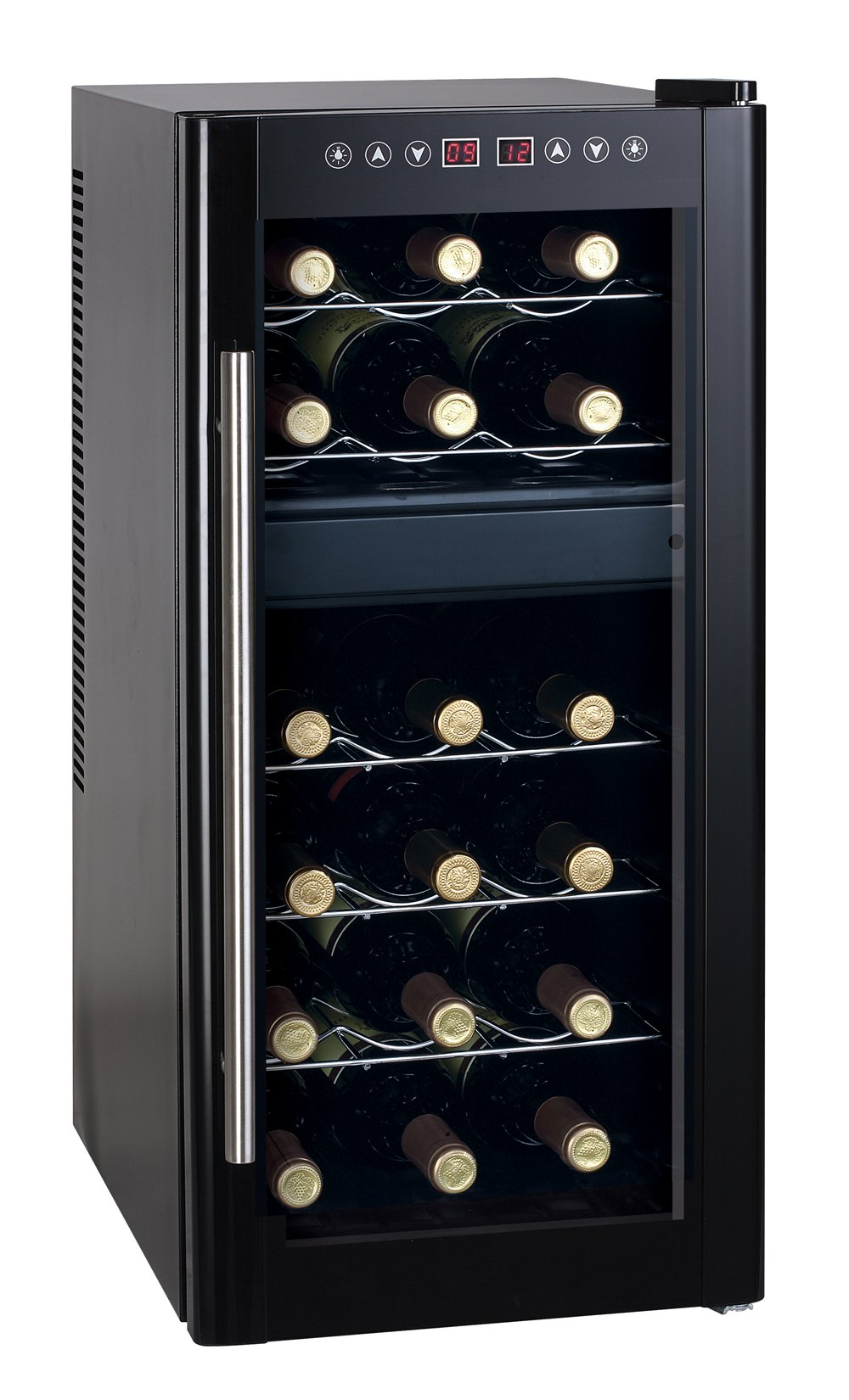 Spt Dual-Zone Thermo-Electric Wine Cooler with Heating, 18-Bottles by SPT