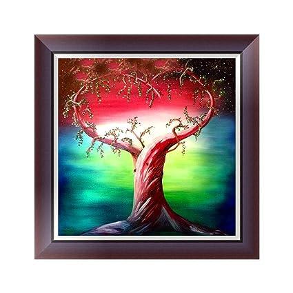 Amazon Com Usstore 5d Diamond Painting Natural Life Tree Diamond