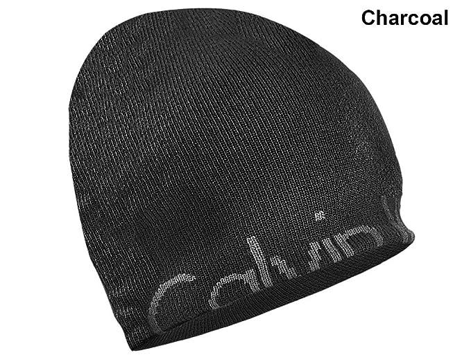 0d13cb288ee967 Calvin Klein- Hidden Rolled Logo Beanie Charcoal at Amazon Men's ...