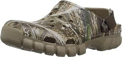 Crocs Unisex Adult Offroad Sport Realtree Max-5 II Clog, Chocolate/Khaki, 6 US Women / 4 US Men