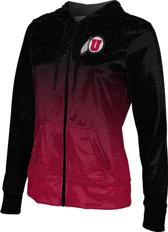 ProSphere University of Utah Women's Full Zip Hoodie - Ombre FCFD1 (Medium)