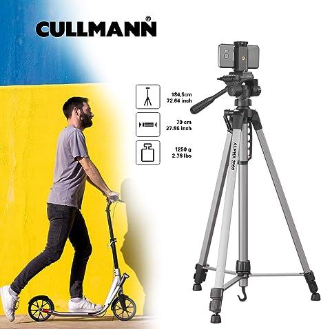 Cullmann Alpha 2800 - Trípode portátil con Soporte para Smartphone ...