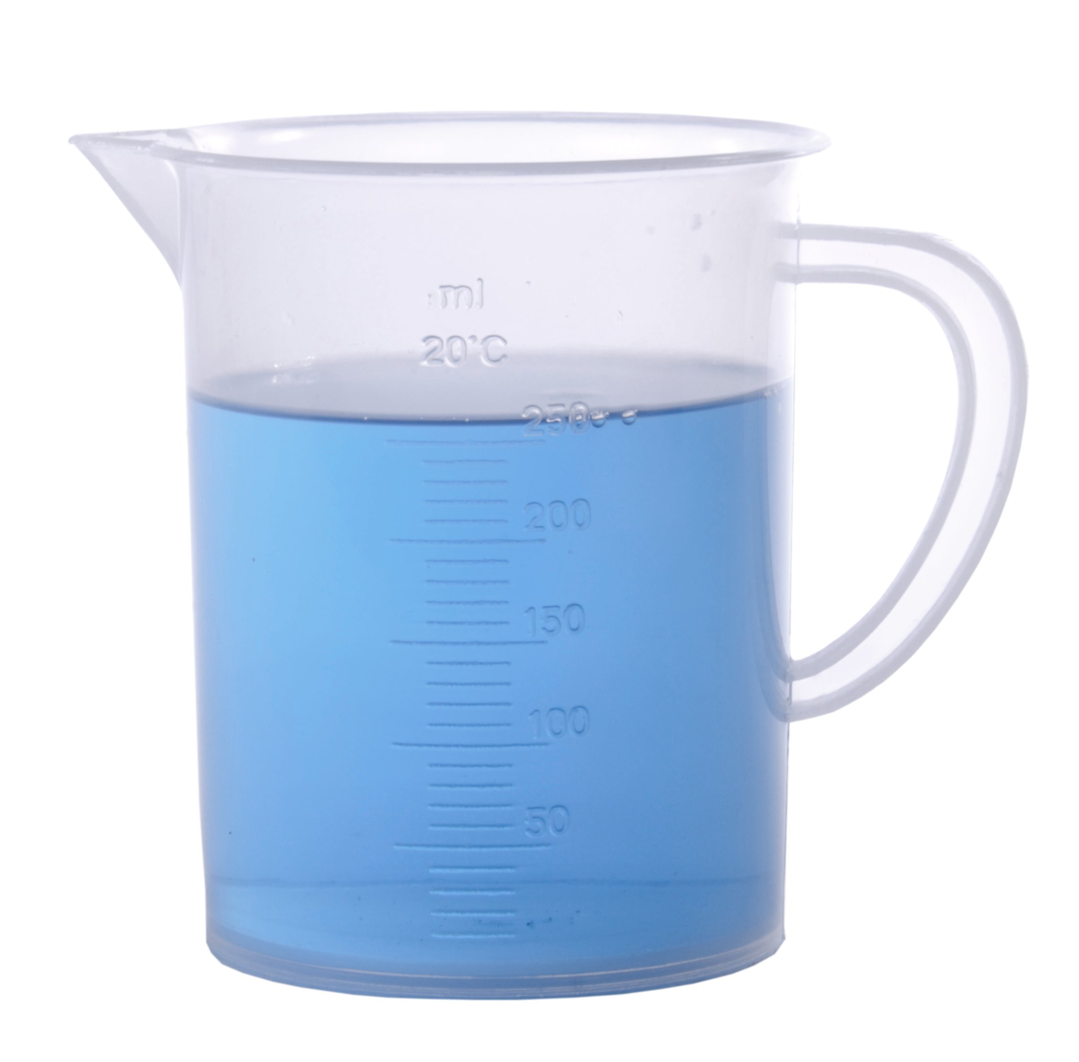 American Educational Polypropylene 250mL Measuring Jug with Handle (Bundle of 5) by American Educational Products