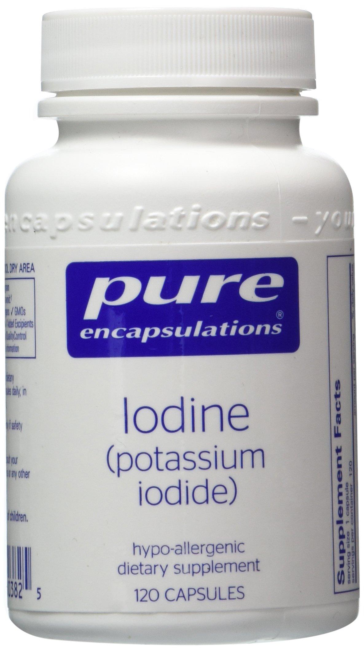 Pure Encapsulations - Iodine (potassium iodide) 120 vcaps- 2 pack