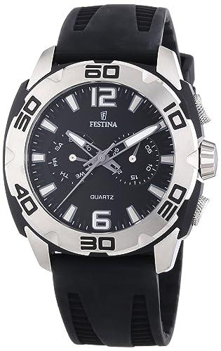 aa099e93d279 Festina F16665 8 - Reloj analógico de Cuarzo para Hombre