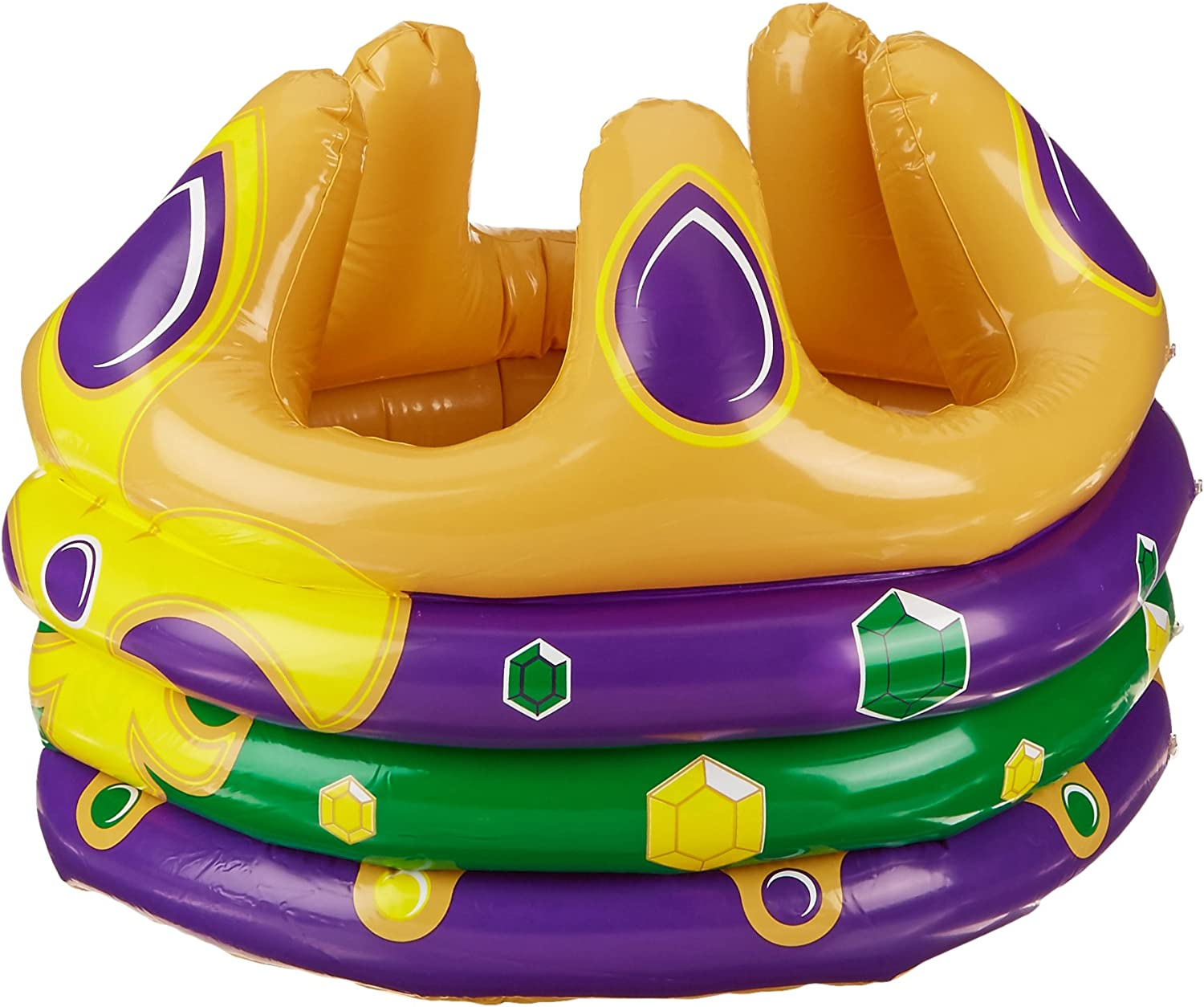 Beistle Inflatable Crown Cooler, 24-Inch Width by 18-Inch Height