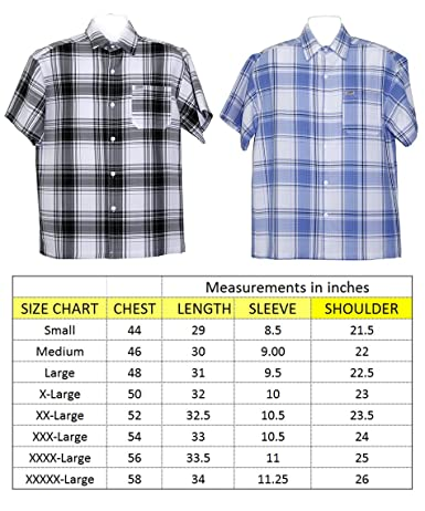 ALLBrand Men s Casual Short Sleeve Button-up Checkered Plaid Shirt at  Amazon Men s Clothing store  7c60c332c833