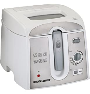 Black & Decker EF2750 2-Litre 1800-Watt Deep Fryer with Digital Timer,
