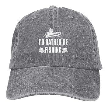 Zcfhike Estaría Bastante FiDenim Hat Ajustable para Hombre Grandes ...
