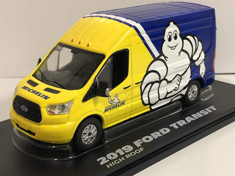 Greenlight 1 43 2019 Ford Transit Lwb Hochdach Michelin Reifen 86175 Spielzeug