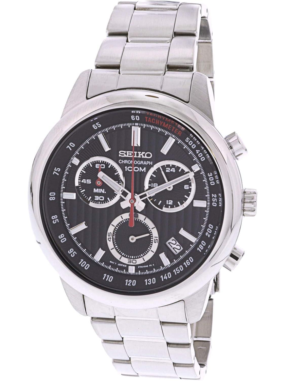 Seiko De los hombres ssb205 plata reloj de buceo de cuarzo japonés de acero inoxidable: Seiko: Amazon.es: Relojes