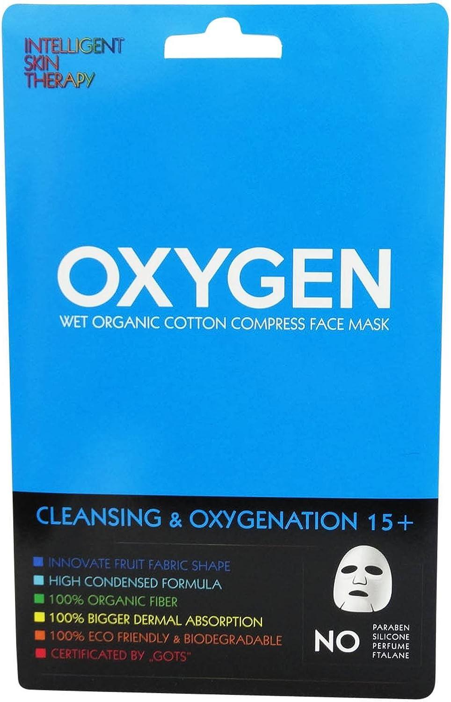 INTELLIGENT SKIN THERAPY - Mascarilla Algodón Orgánico - Oxígeno ...
