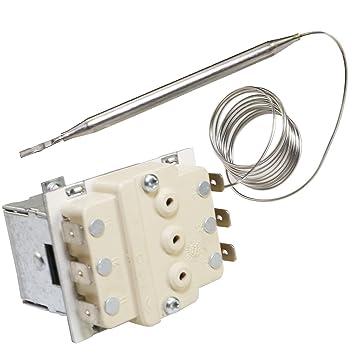 Termostato Spares2Go de seguridad con apagado automático para freidoras comerciales Lincat: Amazon.es: Hogar