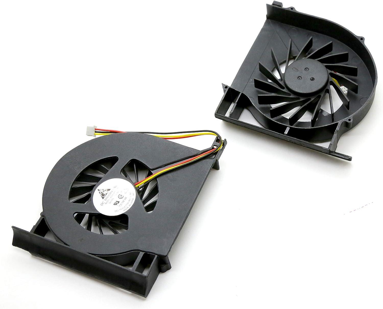 DNX Ventilateur Compatible pour Ordinateur PC Portable Compaq PRESARIO CQ71-410SF Fan Neuf Garantie 1 an Note-X