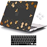 MacBook Pro 15 Case 2018 2017 2016 Release A1990/A1707,iCasso Rubber Coated Cover with Keyboard Cover Compatible Apple MacBoo