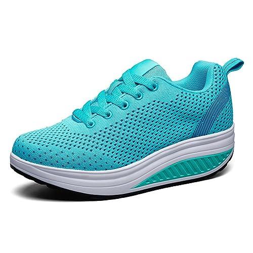 LFEU Zapatillas de Running de Lona Mujer: Amazon.es: Zapatos y complementos