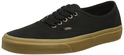 Unisex-Adult Authentic Shoes Size: 6 D(M) US Mens / 7.5 B(M) US Womens Color: (Light Gum) Black