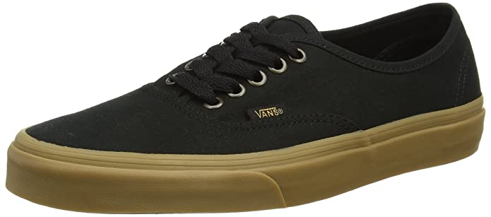 Vans Authentic Sneaker Erwachsene Unisex Schwarz Blacklight Gum