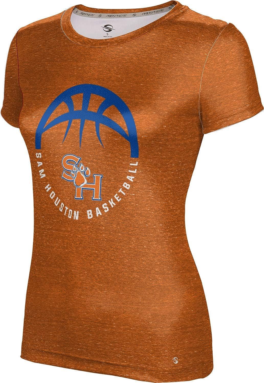 Sam Houston State University Basketball Girls Performance T-Shirt Heather