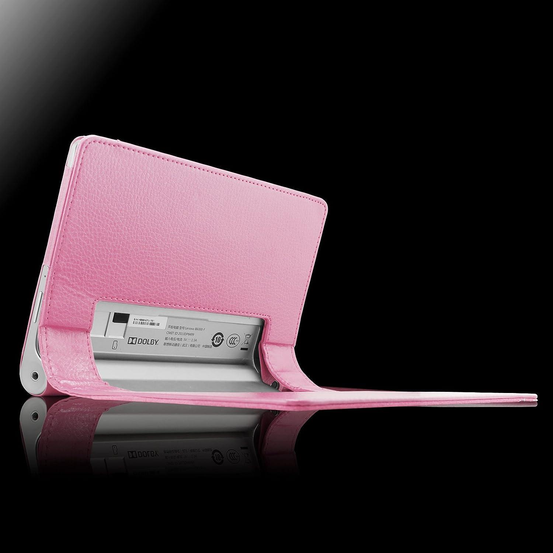 Es de país Lenovo Yoga Tablet 3 8 para - Slim Fit Folio PU-cuero ...