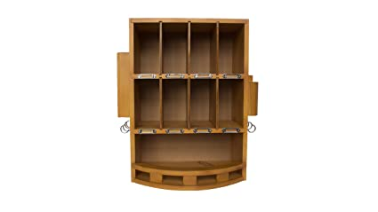 Bon Wooden Mail Organizer   Natural Finish (Natural) (17.5u0026quot;H X 15u0026quot;