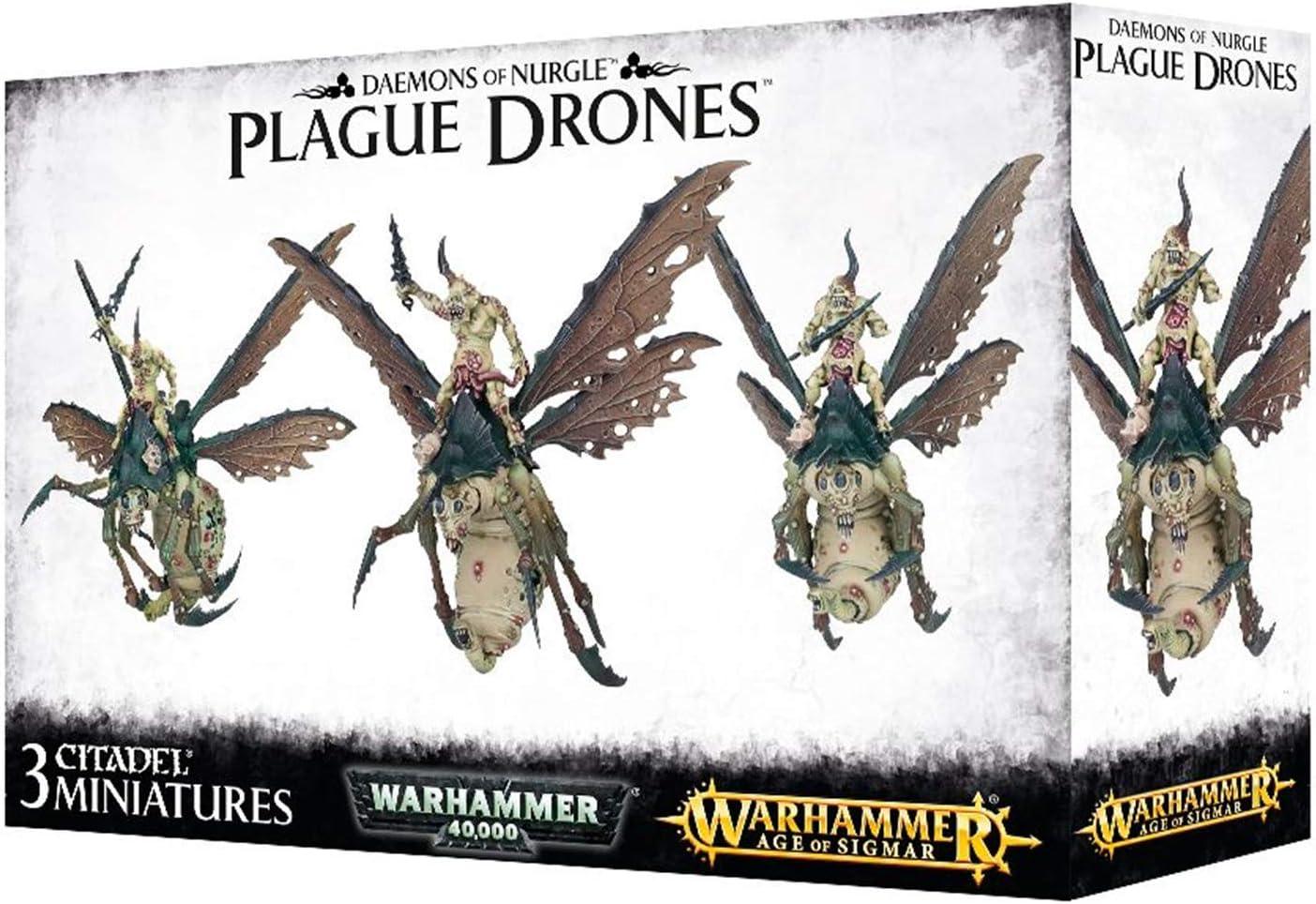 chaos daemons of nurgle Plague Drones Drone Plaguebringer parts