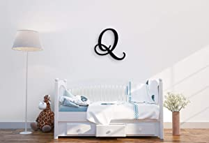 """Giant Wall Decor Letters Uppercase Q 