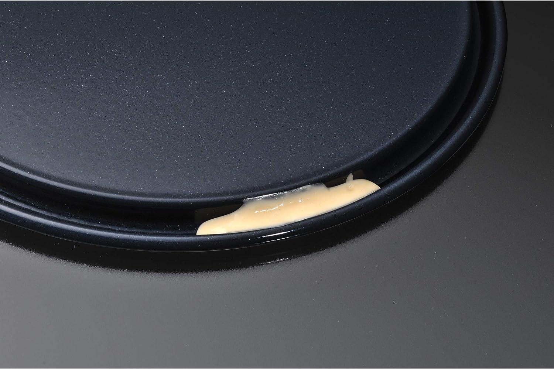 Kaiser Inspiration Moule /à charni/ère avec fond plat pour 1//2 r/éception de recettes Bord extra haut anti-fuite Noir 20 cm