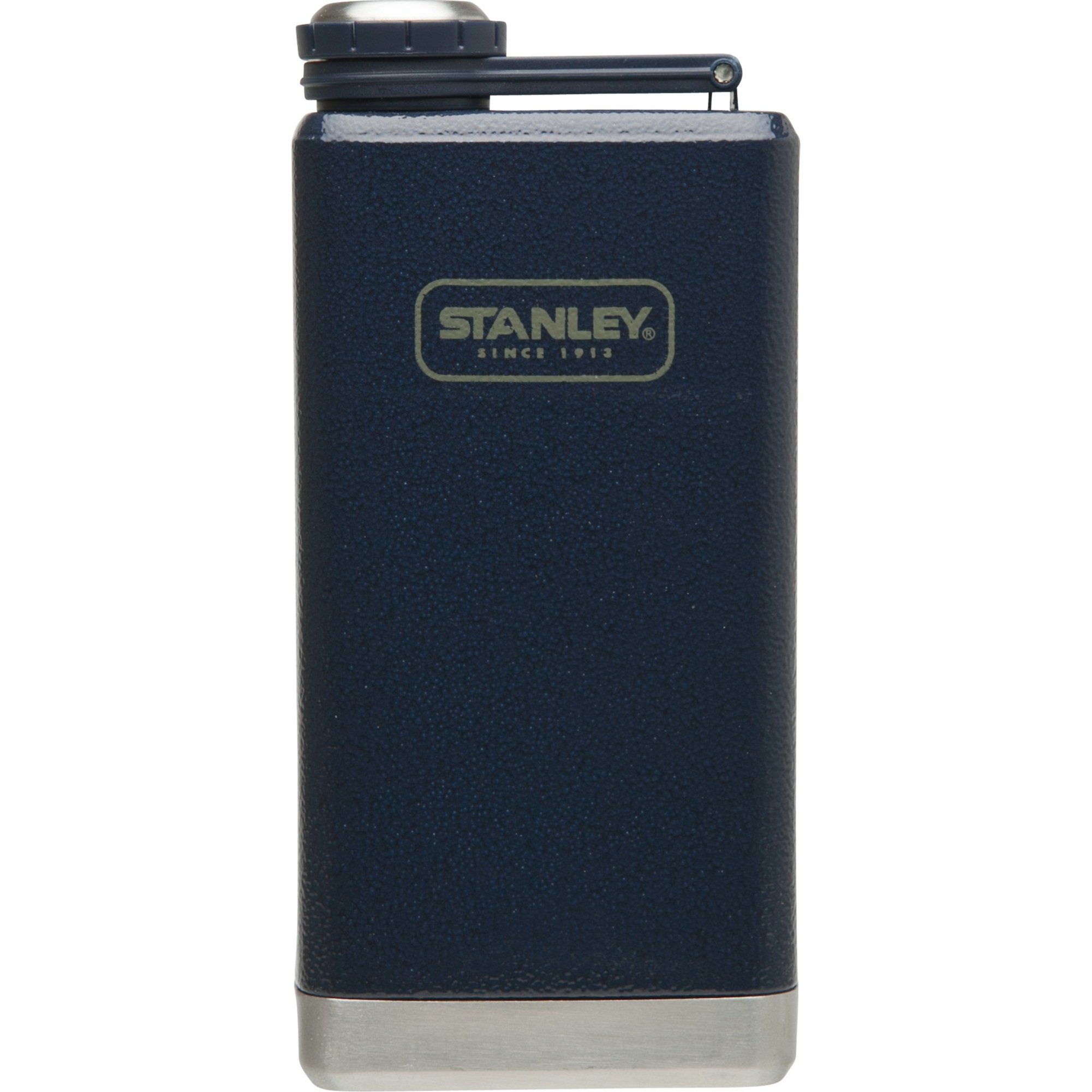 Stanley Adventure Stainless Steel Flask 8oz Hammertone Navy