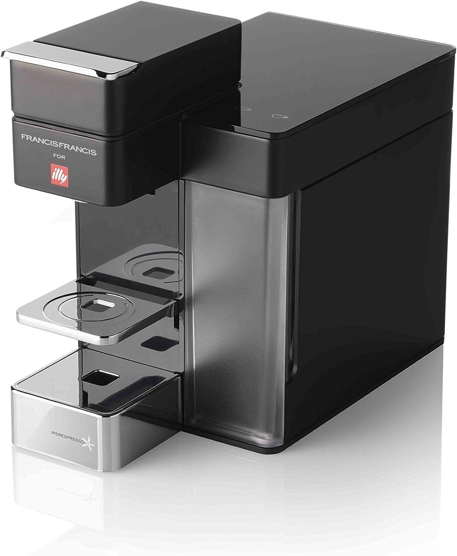 Illy 949840 Máquina de café en cápsulas, 0.9 litros, Acero Inoxidable, Negro: Amazon.es: Hogar