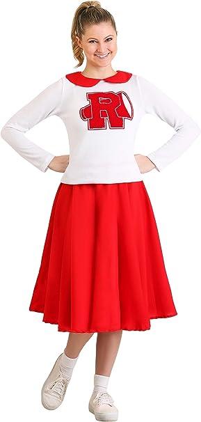 Fun Costumes Grease Rydell - Disfraz de Animadora para Mujer ...