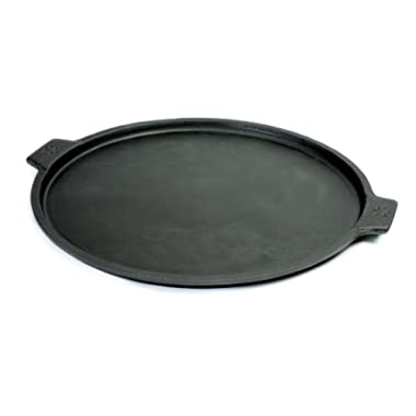 Pizzacraft Cast Iron Pizza Pan, 14-Inch, For Oven or Grill - PC0300
